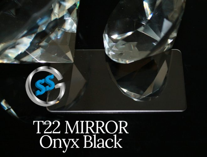 T22 MIRROR ONYX BLACK gallery