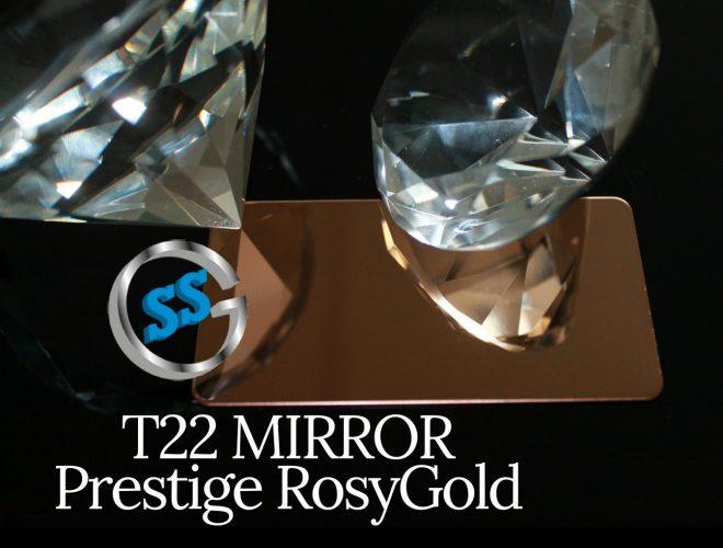 T22 MIRROR PRESTIGE ROSY GOLD gallery