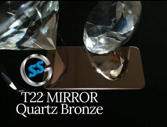 T22 MIRROR QUARTZ BRONZE gallery