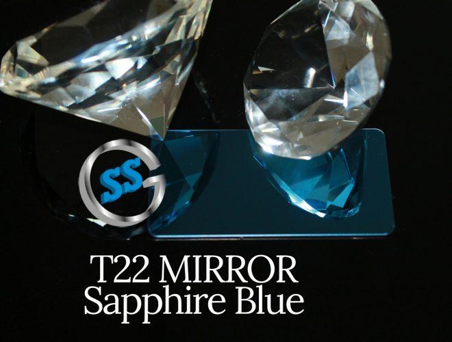 T22 MIRROR SAPPHIRE BLUE gallery
