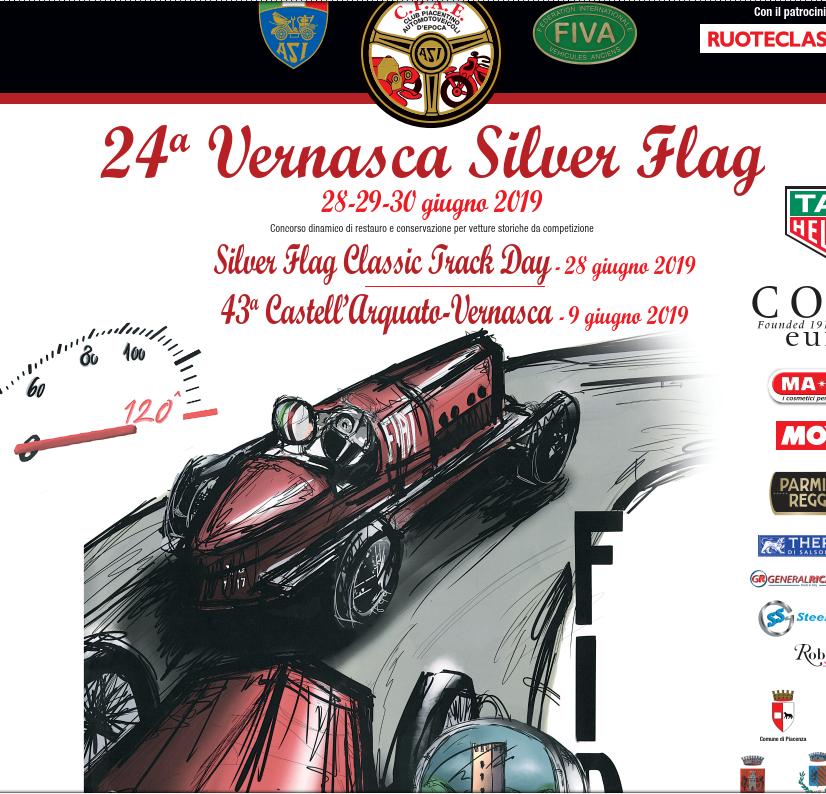 VERNASCA SILVER FLAG: acciaio inox per far rivivere la storia delle autovetture