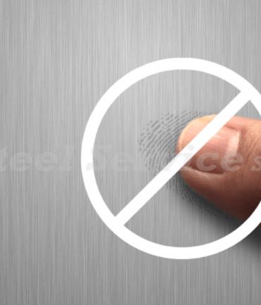 CernoTex™, il trattamento anti-impronta per acciai inox belli da toccare!