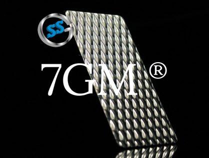 Lamiere bugnate 7GM®: tutto sulla finitura originale, diffidare delle imitazioni (7WL)