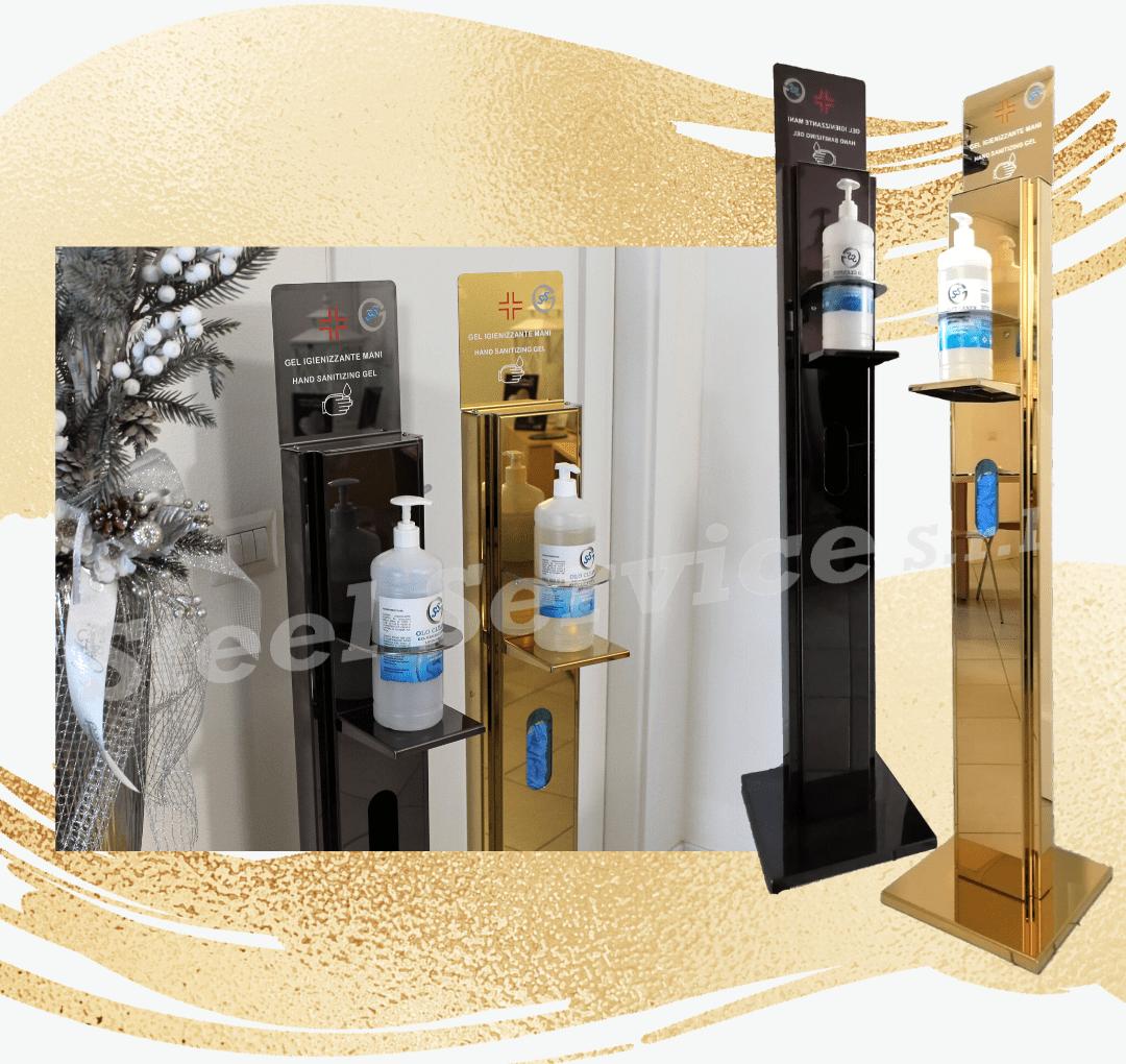 La prevenzione con il tuo stile:  personalizza la tua colonna igienizzante!